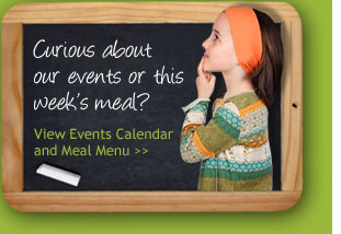 Beginning Steps Calendar Events and Menu